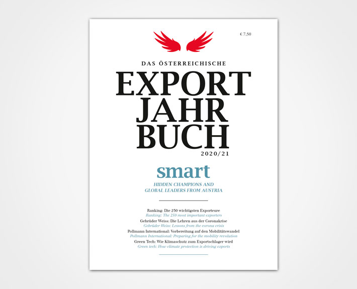smart / EXPORT Jahrbuch 2020 - 2021 Cover